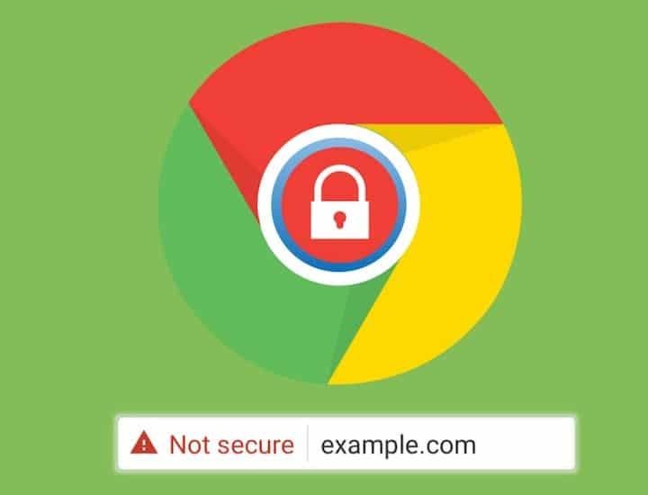 Site non sécurisé sans certificat SSL